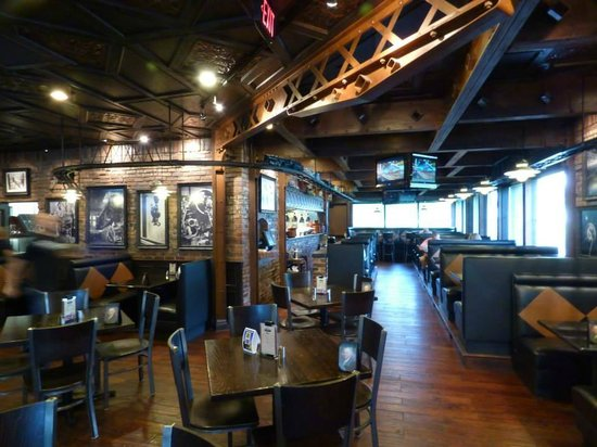 Revolution Eatery Grille Train And Main Part Of Restaurant