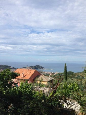 B&B da Carla: la vista dal borgo di San Bernardo su Sestri Levante
