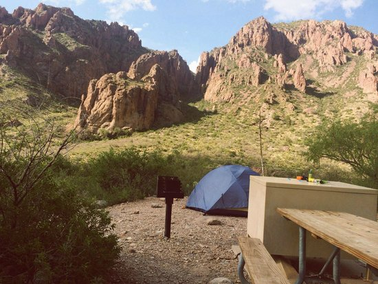 Campsite 56 Picture Of Chisos Basin Campground Big Bend