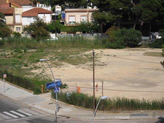 Nuba Hotel Coma-ruga: Parking del hotel