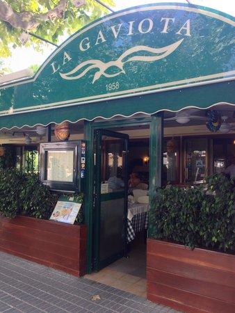 La Gaviota Restaurant : L'entrée