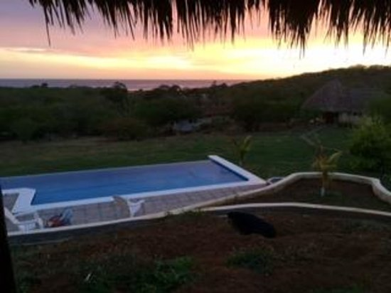 Las Plumerias Lodge and Surf: view