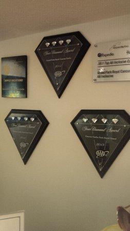 Grand Park Royal Cancun Caribe: Award winning.