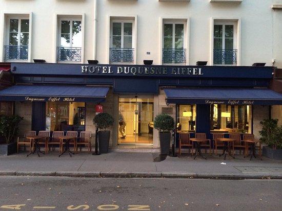Hotel Duquesne Eiffel: entrance