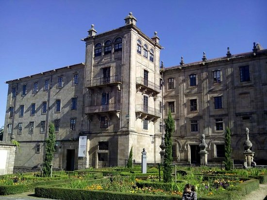 Hospederia San Martin Pinario: Entrada Hospedería