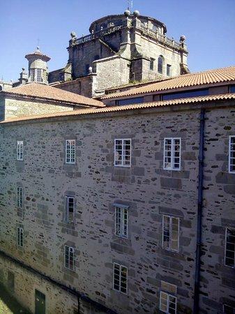 Hospederia San Martin Pinario: Vistas desde la habitación