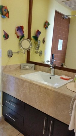 Ixchel Beach Hotel: Il bagno