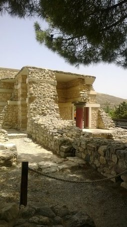Le Palais de Cnossos : Corner of the palace