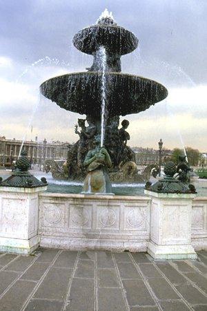 Place de la Concorde: fontana