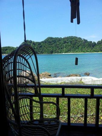 Gem Island Resort & Spa: Vue depuis Villa Premier