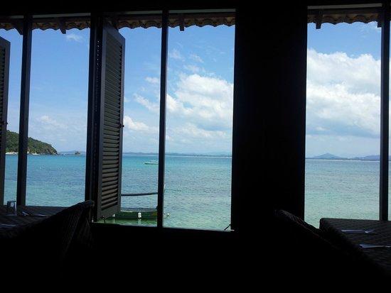 Gem Island Resort & Spa: Vue depuis le restaurant