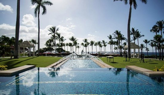 Grand Wailea - A Waldorf Astoria Resort: reflecting pool