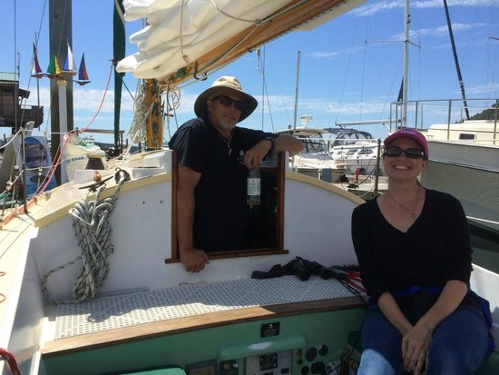 Northwest Classic Daysailing : In port, getting ready to sail