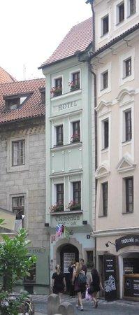 Clementin Old Town: Сам отель.