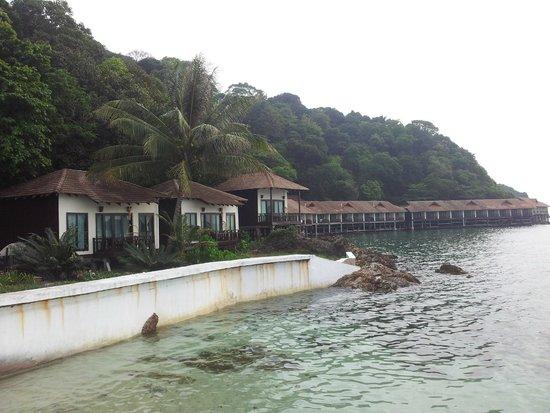Gem Island Resort & Spa: les villas premier et au fond les sea view