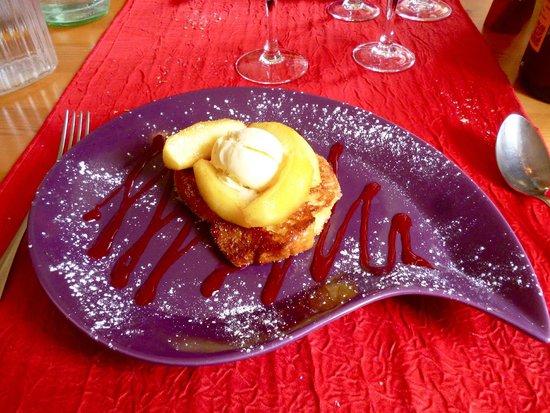 Auberge de Catherine: un joli dessert