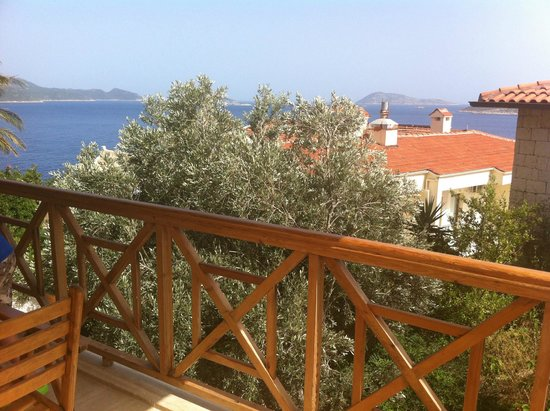 Lycia Hotel: balkondan manzara