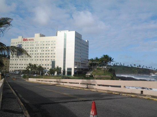 Ibis Salvador Rio Vermelho : Localização