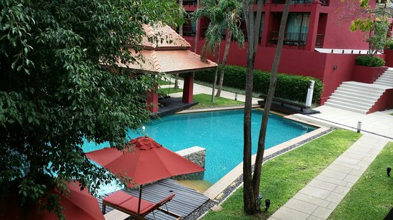 Escape Hua Hin Hotel : View from my room. ..524