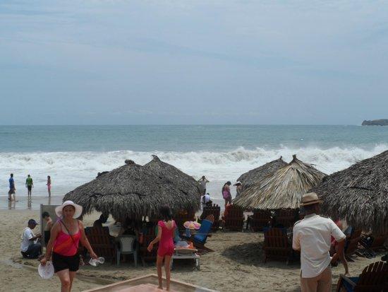 Sunscape Dorado Pacifico Ixtapa : Palapas Hotel