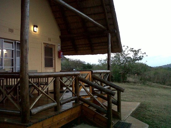 Mpila Camp : 2 bedded chalet