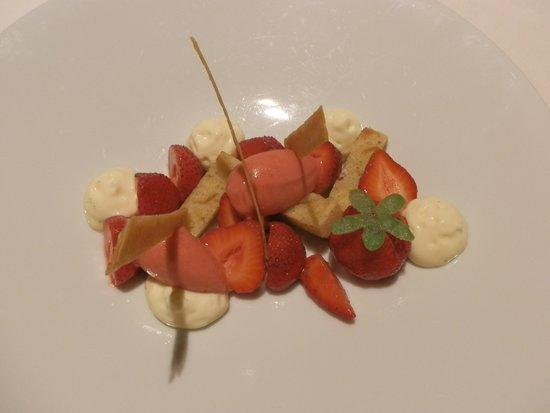 Auberge Saint Jean : Les fraises