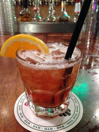 Issaquah Brewery: Blood and Dirt cocktail