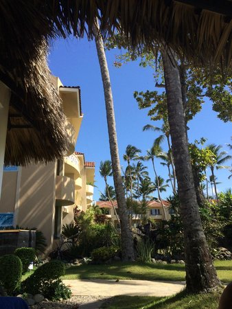 Velero Beach Resort: View from the restaurant on site