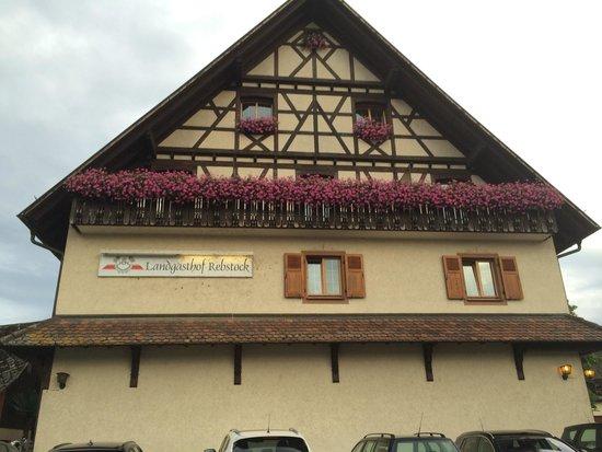 Landgasthof Rebstock: The front