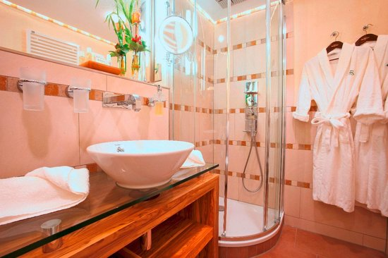 Hotel Sackmann: Badezimmer