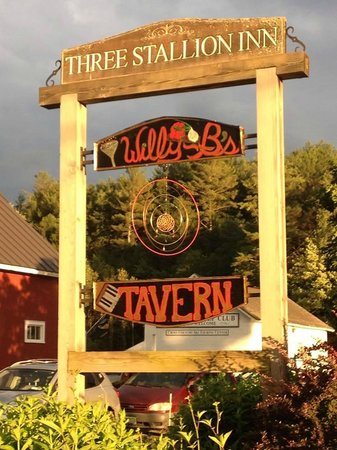 Willy B's Tavern: We love locally sourced services- food, drink and signage!