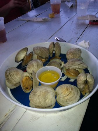 Harrison's Chesapeake House: clams