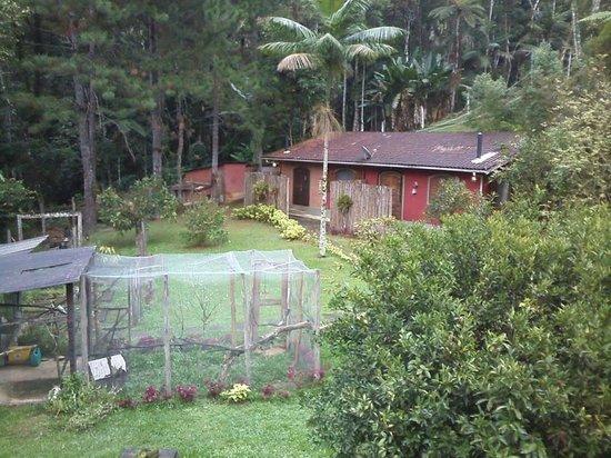 Pousada Serra da Mata: Vista da piscina