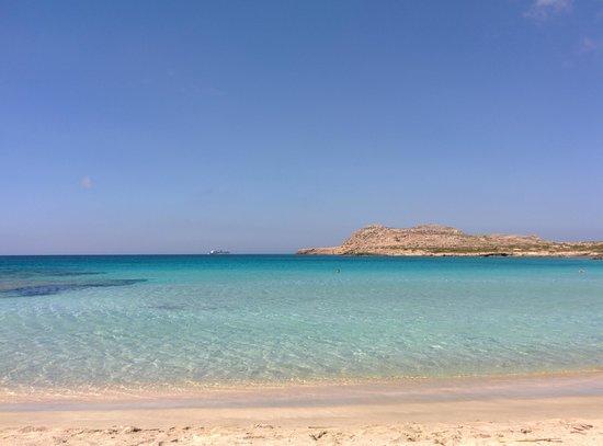 Electra Beach Hotel: Spiaggia di Dhiakoftis (a sud dell'aeroporto)