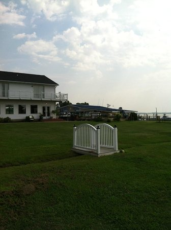 Harrison's Chesapeake House: view from room
