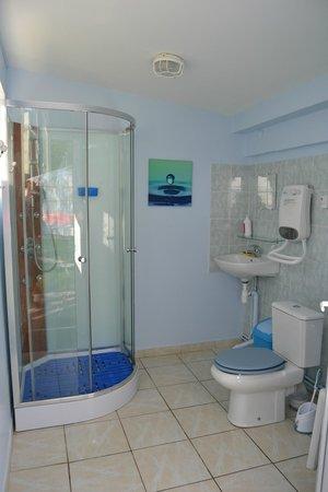 Rando Yourte: Salle de douche