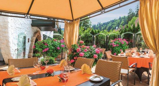 Hotel Sackmann: Gartenterrasse
