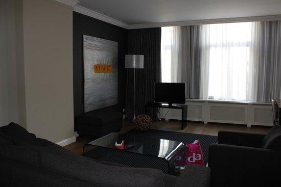 Hotel Vondel: Livingroom