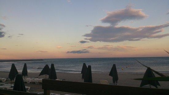 La Playa : Terrasse