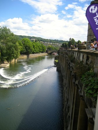 Pulteney Bridge: the view from my window seat