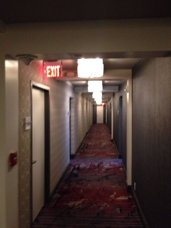 Capitol Hill Hotel : Ailes in the 2nd building, 2nd floor
