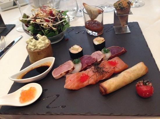 Restaurant La Cafetière Fêlée: formule gourmande
