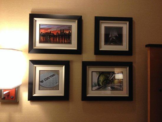 La Quinta Inn & Suites Manhattan : decoração