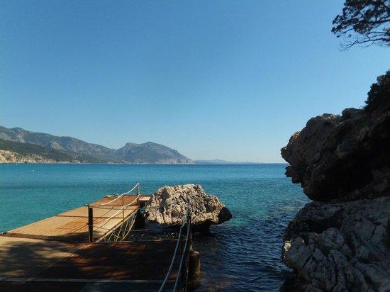 the pier of cala luna