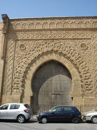 Kasbah des Oudaias : Bab door