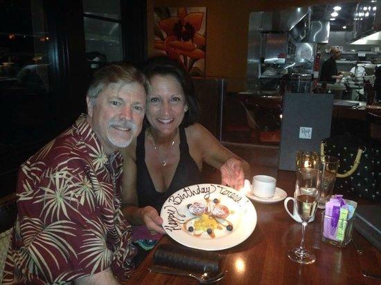 Roy's Restaurant : Birthday treat at Roy's Rancho Mirage