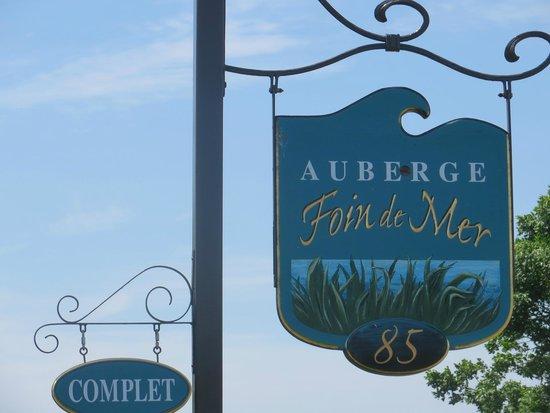 Auberge Foin de Mer : Accueil