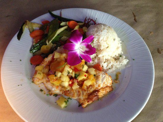 Snappers Sea Grill : Island Grouper Meal