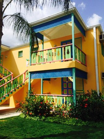 Grand Pineapple Beach Negril: our room for the week -beach cottage 32