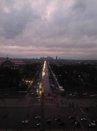Champs-Élysées : Champs Elysees vista da Roda Gigante